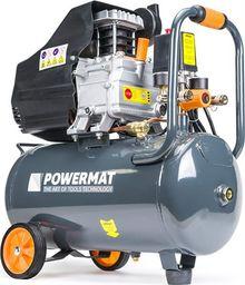 Sprężarka tłokowa Powermat Kompresor olejowy Powermat PM-KO-24T