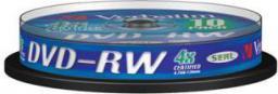 Verbatim DVD-RW/10/Cake 4.7GB Matt srebrny 43552