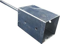 Ramstal Podstawa słupa 100x100mm z kotwą 16mm gr.2mm Solidna