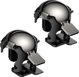 Baseus Baseus Level 3 Helmet PUBG pad gamepad joystick do telefonu do gier czarny (GMGA03-A01) uniwersalny
