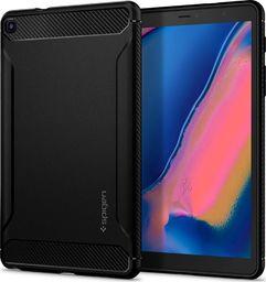 Etui do tabletu Spigen Spigen Rugged Armor Galaxy Tab A 8.0 S-Pen 2019 P200/P205 Matte Black uniwersalny