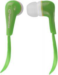 Słuchawki Esperanza EH146G Zielony (5901299904862)