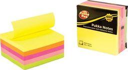 Pukka Pad Karteczki Samoprzylepne Neonowe - Pukka uniwersalny