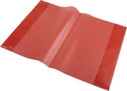 Panta Plast Okładka na zeszyt A5 PP czerwony (10szt) uniwersalny