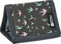 Paso PASO Portfel PPJS19-882 Ptaki uniwersalny