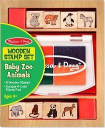 Melissa & Doug Melissa Stemple Pieczątki Zwierzątka Zoo  uniwersalny