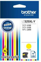 Brother tusz LC525XLY (yellow)