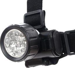 Mil-Tec Latarka Czołowa 12 LED Czarna
