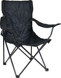 Mil-Tec Mil-Tec Krzesło Składane Relax Wędkarskie Czarne uniwersalny