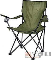Mil-Tec Mil-Tec Krzesło Składane Relax Wędkarskie Olive uniwersalny
