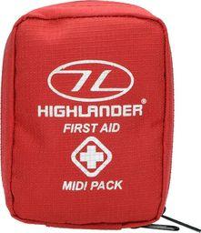 Highlander Highlander Apteczka z Wyposażeniem Średnia Czerwona uniwersalny