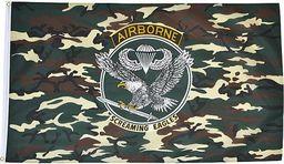 Mil-Tec Mil-Tec Flaga US Airborne uniwersalny
