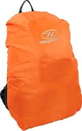 Highlander Highlander Pokrowiec Przeciwdeszczowy na Plecak 40-50L Pomarańczowy uniwersalny