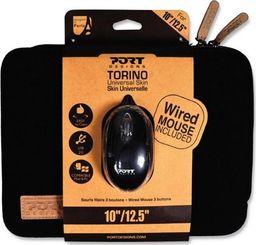 "Etui Port Designs Port Designs TORINO etui na laptopa 13/14"" + Mysz - Czarne (501777) uniwersalny"