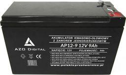 AZO Digital Akumulator VRLA AGM bezobsługowy AP12-9 12V 9Ah