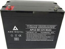 AZO Digital Akumulator VRLA AGM bezobsługowy AP12-80 12V 80Ah