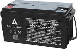 AZO Digital Akumulator VRLA AGM bezobsługowy AP12-60 12V 60Ah