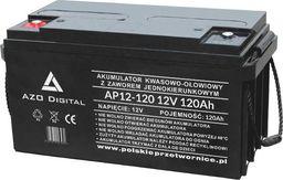 AZO Digital Akumulator VRLA AGM bezobsługowy AP12-120 12V 120Ah