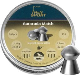 H&N Sport Śrut diabolo H&N Baracuda Match 5,53 mm 200 szt. uniwersalny