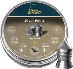 H&N Sport Śrut diabolo H&N Silver Point 5,5 mm 200 szt. uniwersalny