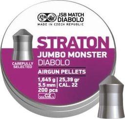 JSB Śrut diabolo JSB Jumbo Monster Straton 5,51/200 uniwersalny
