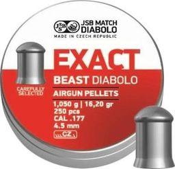 JSB Śrut diabolo JSB Exact Beast 4,52/250 uniwersalny