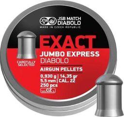 JSB Śrut diabolo JSB Exact Jumbo Express 5,52/250 uniwersalny