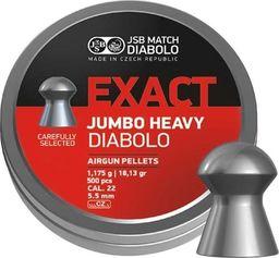 JSB Śrut diabolo JSB Exact Jumbo Heavy 5,53 mm 250 szt. uniwersalny