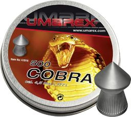Umarex Śrut diabolo Umarex Cobra Pointed Ribbed 4,5/500 uniwersalny