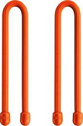 """Organizer Nite Ize Nite-Ize Multifunkcjonalny Uchwyt Gear Tie 6"""" 2szt. Pomarańczowy uniwersalny"""