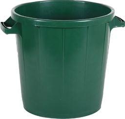 EDA Kosz na odpady 50L zielony uniwersalny (8202)