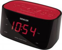 Radiobudzik Sencor SRC 180 Czerwono-czarny (RSENAUD29)