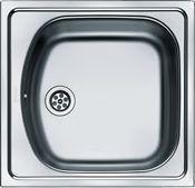 Franke Zlewozmywak 1-komorowy ETL 610 bez ociekacza 43,5 x 45,5cm stalowy (101.0067.345)
