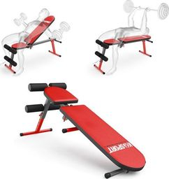 K-Sport Ławka do ćwiczeń brzuszków skośna regulowana składana (KSSL024)