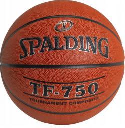 Spalding Piłka do koszykówki TF-750 pomarańczowy r.7