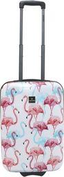 Saxoline Mała kabinowa walizka SAXOLINE Flamingo S 1353C0.49.09 uniwersalny