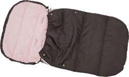 ENERO  Śpiworek Zimowy Dla Dzieci 90X45Cm Polar Róż / Antracyt uniwersalny