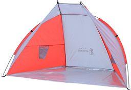 Royokamp  Namiot Osłona Plażowa Sun 200X100X105Cm Szaro-Czerwona Royokamp uniwersalny