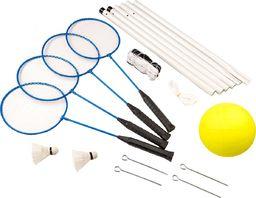 ENERO  Zestaw do siatkówki i badmintona 5w1 uniwersalny