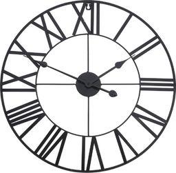 Segnale zegar ścienny metalowy duży Retro Loft 57 cm uniwersalny