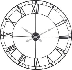 Segnale zegar ścienny metalowy duży Retro Loft 88 cm uniwersalny