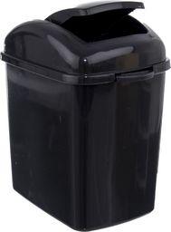 Kosz na śmieci Orion Mini uchylny 1.2L czarny