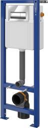 Stelaż Cersanit Aqua Set B78 + przycisk Presto chrom błysszczący (S701-329)