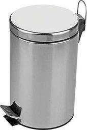 Kosz na śmieci Metlex Kosz na śmieci kuchenny stal pedał odpady 20L satyna uniwersalny