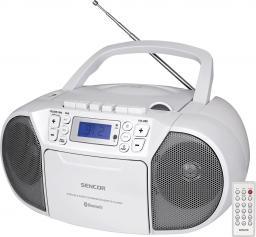 Radioodtwarzacz Sencor SPT 3907W CD, BT, KASETA biały