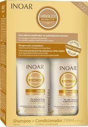 Inoar Zestaw do włosów Daymoist Duo Kit szampon 250ml + odżywka 250ml