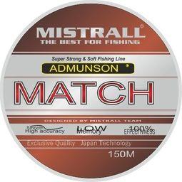 Mistrall Żyłka Admunson match 150m 0,10mm Misttall zm-3334012
