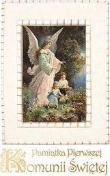 Olesiejuk Pamiątka Pierwszej Komunii Św. (Anioł i dzieci)