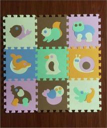 Isere Mata puzzle piankowe na podłogę Zwierzątka 2