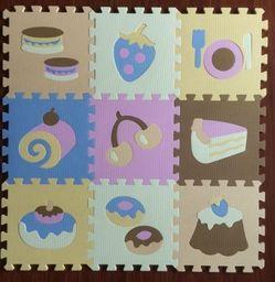Isere Mata puzzle piankowe na podłogę Jedzenie